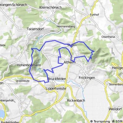 MTB Rund um Altheim
