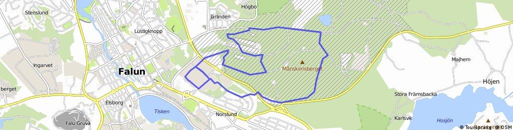 Dalamilen Preliminar Karta Bikemap Your Bike Routes