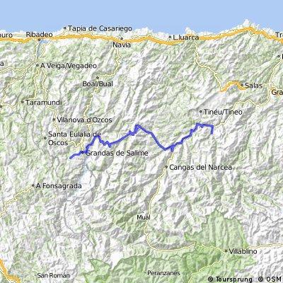 CamPrim2 Etappe 2: Tuna - Castro