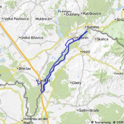 Okolo Moravy,k Baťovu kanálu