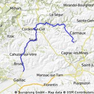 TdF 2003: 12. Etappe Caillac > Cap´Decouverte