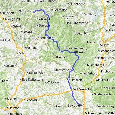 Team WEISSER RING on Tour 2013_5.Etappe_Neuhaus a. Rennweg - Bayreuth
