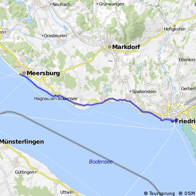 Meersburg - Friedrichshafen