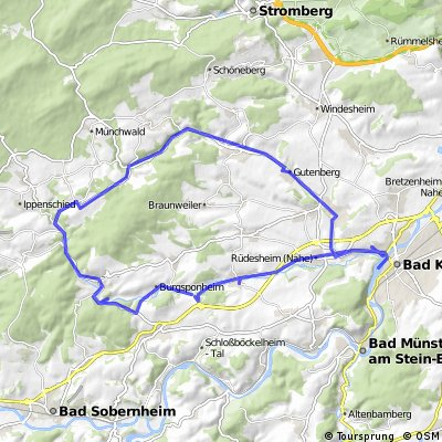 Kleinbahnrundweg - Bad Kreuznach - Ellerbachtal