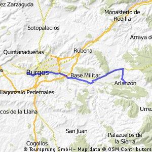 BCB ENCUENTROS 2005  Etapa 1 Burgos Arlanzón
