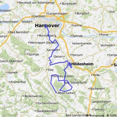 Niedersachsen-Rundfahrt 5. Etappe Alfeld-Hannover