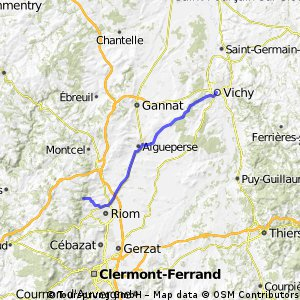 Vichy -> Clermont