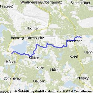 Teistück Wolfsradweg