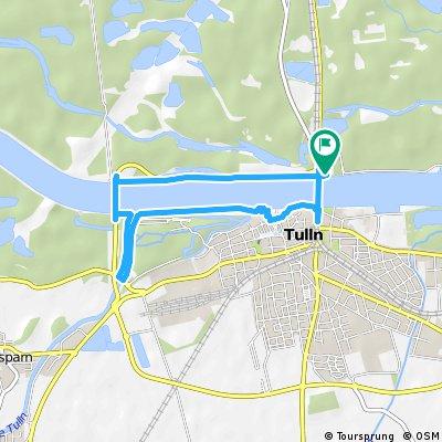 Donau route Tulln