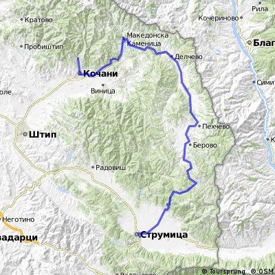Тура низ Македонија - Етапа 2