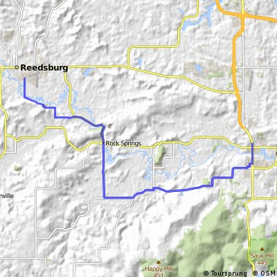 Baraboo to 400 Trail, Wisconsin