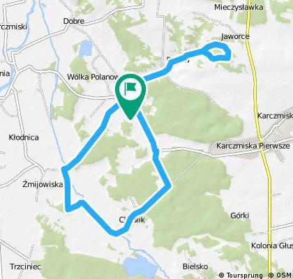 Polanówka - Rogów - Chodlik