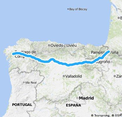 Camino de Santiago - El Camino Francés