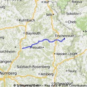Pegnitz - Tirschenreuth