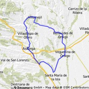 Santibañez - Magaz de Cepeda - Benavides - Santibañez