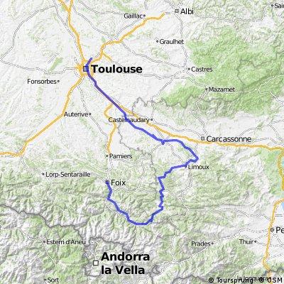 Bpf 09/11 Train : Foix/Lordat/La Fajolle/ St Hilaire