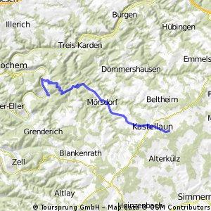 Beilsteien- Kastellaun, päivä 3, vaihtoenhto 2