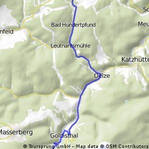 Grossbreitenbach - Goldisthal