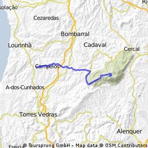 Montejunto por Vila Verde