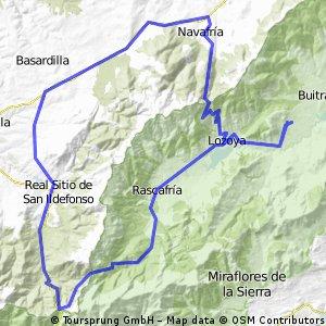 Lozoya-Rascafría-Navacerrada-Navafría-Lozoya