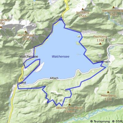 Walchensee-Umrundung über Altlacher Hochkopf