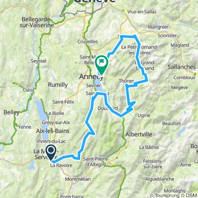 Tour de France 16 Chambery- Annecy(Mont Veyner)