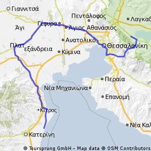 Cycling Routes And Bike Maps In And Around Agios Vasileios