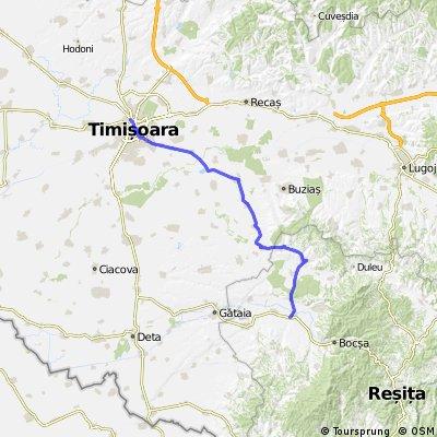 Timisoara - Cheveresu Mare - Berzovia