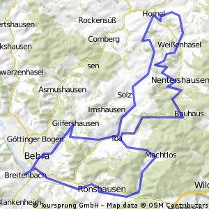 Durch Waldhessen 1