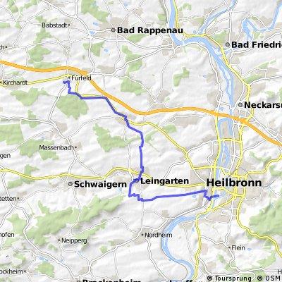 Footcort über Leingarten-Fürfeld