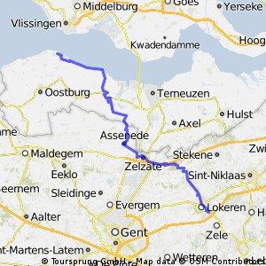 Lokeren28 Breskens7 68km