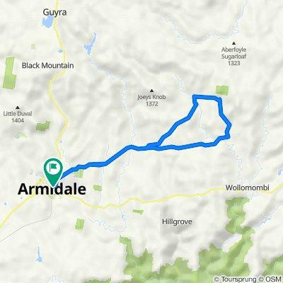 Armidale, Rockvale Rd Chandler Rd loop