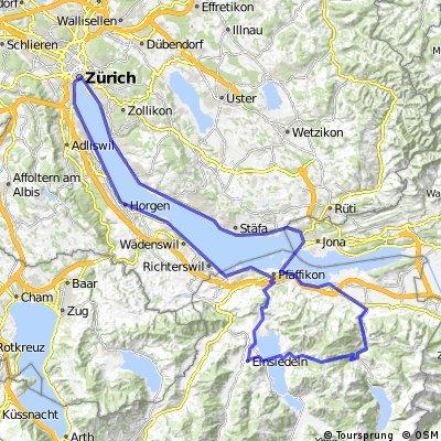 Zürich-Etzel-Sattelegg-Zürich