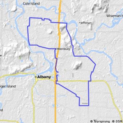 Millersburg - Santiam Bluffs - Beanery Lp