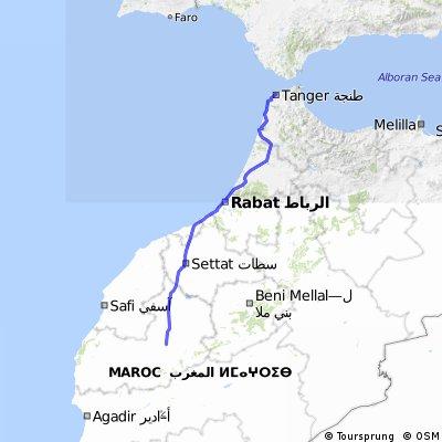De Marrakesch a Tanger