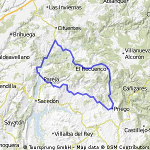 Priego - Vuelta por Trillo