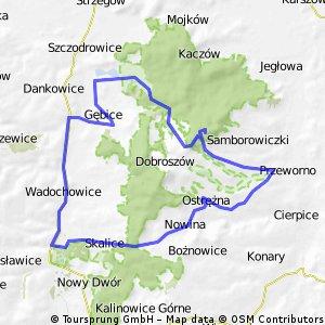 Wadochowice - Gromnik - Henryków - Wadochowice