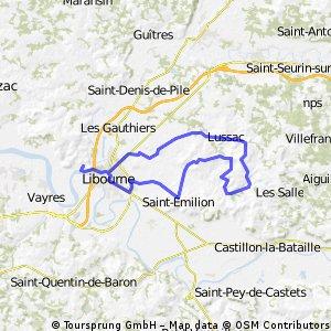 Kulturerbe-Route Saint-Emilion