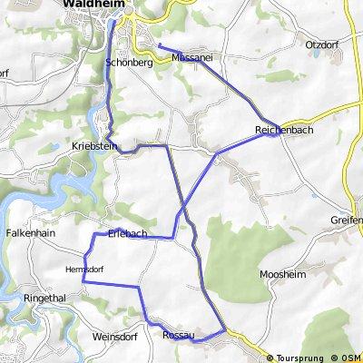 2. Route 2.Mä VFL-Waldheim Saisonvorbereitung