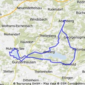 Abenberg_Brombachsee_Altmühlsee