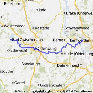 Aumund-Oldenburg-Bad Zwischenahn CLONED FROM ROUTE 1211667