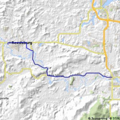 Wisconsin136 from Baraboo to Reedsburg