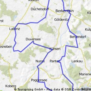 Bergwertung im Kreis Herzogtum Lauenburg