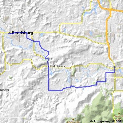 West Baraboo to Reedsburg