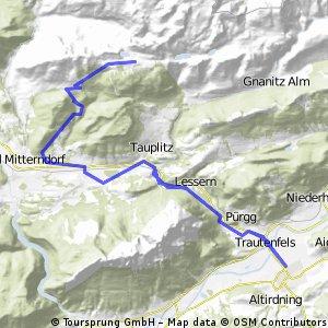 Irdning - Tauplitz Alpenstraße
