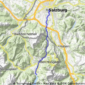 Bodensee-Königssee-Radweg IX (Königssee - Salzburg)