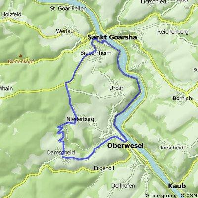 Damscheid-Oberweisel-St.Goar-Damscheid