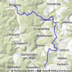 Burgsinn - Adelsberg