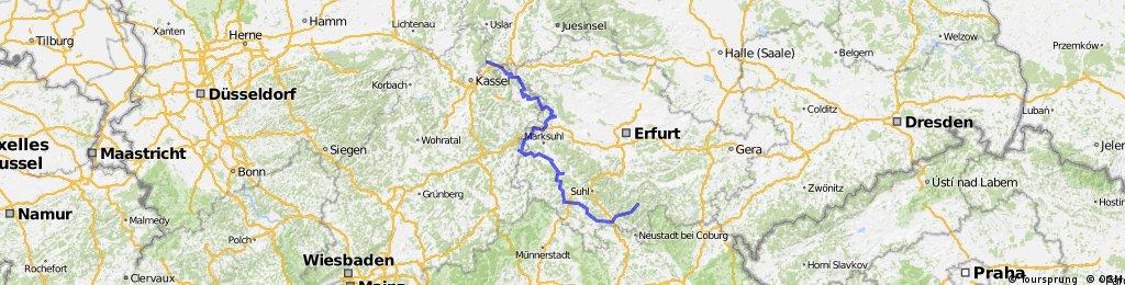 Werra- Tour 2013