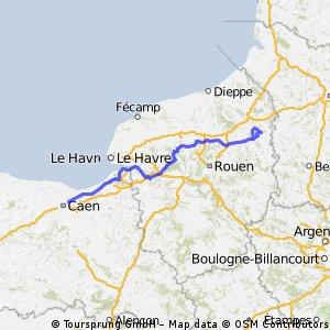 20130319 Tour de Normandie Cycliste stage 1